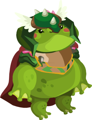 Ribbitrush monster