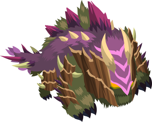 Treegon monster